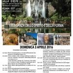 Viaggio Subiaco - Villa D'Este - Roma Est