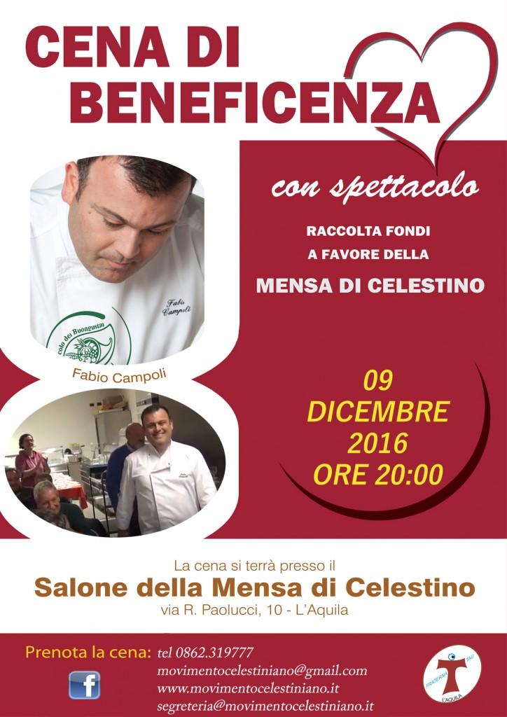 locandina cena di beneficenza (1)